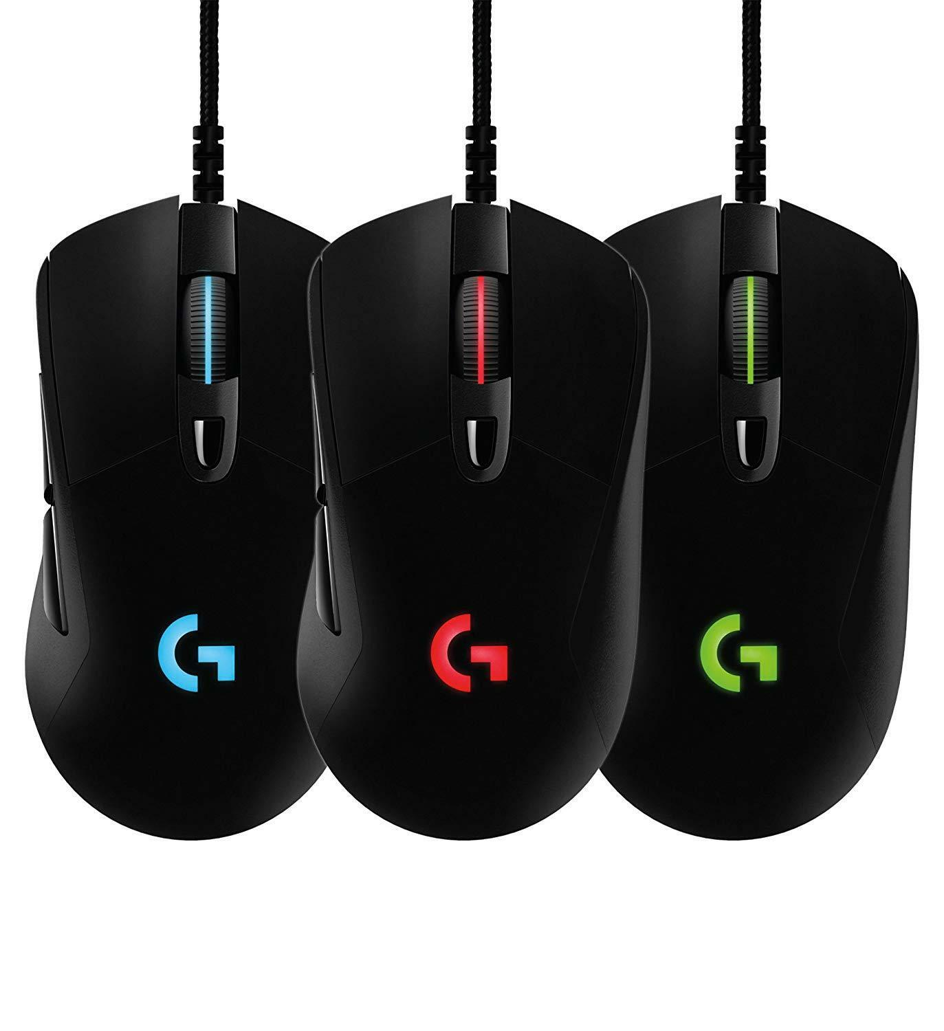 3762e957c3c LOGITECH G403 Prodigy WIRELESS Gaming Mouse 12000 DPI Optical RGB A ...